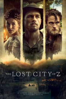 The Lost City of Z 2017 bluray